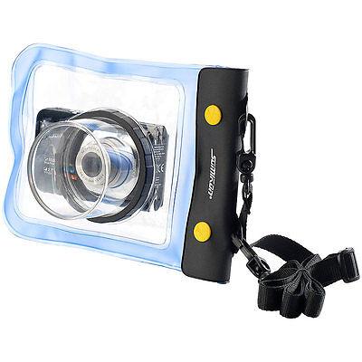 Unterwasserhülle: Unterwasser-Kameratasche XL mit Objektivführung Ø 55 mm
