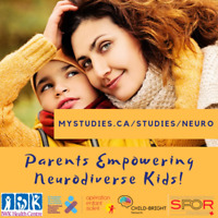 Parents Empowering Neurodiverse Kids! Participate in Research