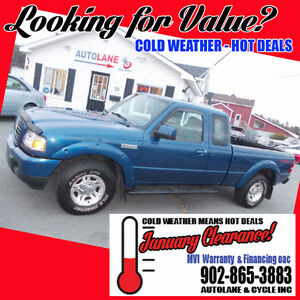 2009 Ford Ranger Extended Cab Sport Runs Great SHARP TRUCK
