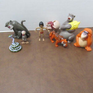 LE LIVRE DE LA JUNGLE DISNEY LOT 8 FIGURINES MCDONALDS