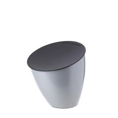 Rösti Mepal Mülleimer,Silber Zähler Arbeitsplatte Abfalleimer Aufbewahrung Veg (Mülleimer Arbeitsplatte)