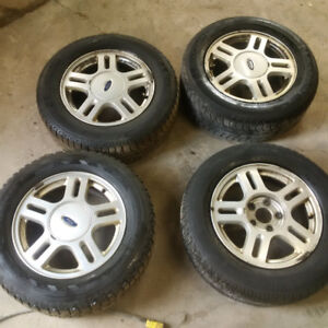 Ford windstar 16 IN rims and 225 60 16 winter tires