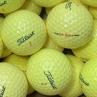 200 Pelotas de Golf Titleist SoLo Amarillo AAA / AAAA Calidad So Lo lakeballs Dt