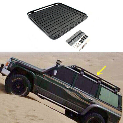 For Nissan PATROL Y60 Y61 2010-2016 Car Carrier Roof Rack Basket Cross Bar Car
