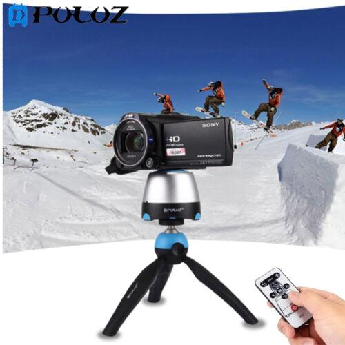 PULUZ Electronic 360 ° Rotation Panoramic Tripod Head + Mou