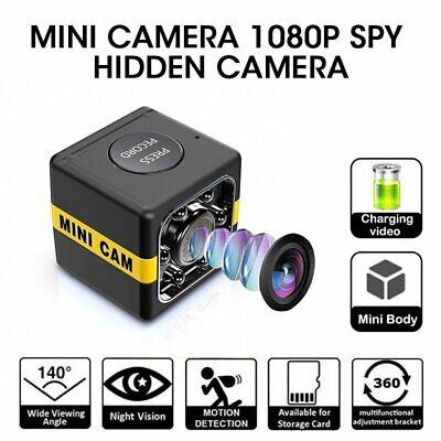 1080P Mini WIFI Hidden Spy Cube Camera DVR Night Vision Motion Detection Home