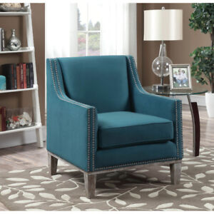 Brand New Augusta Transitional Polyester Accent Chair Reg $550