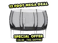 """""""Mega Clearance"""" Trampolines for only £39.99 - inc Free Shipping"""