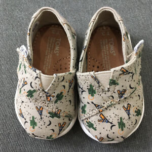 TOMS Baby Shoes 0 - 6 mo.