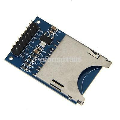 2pcs Sd Card Reader Module Holder Board Slot Socket Scm Spi Interface Arduino Ca