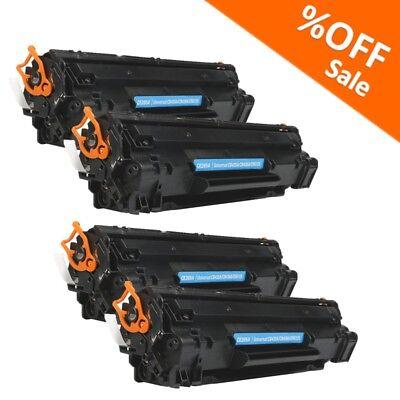 4PK CE285A 85A Toner Cartridge For HP LaserJet P1102 P1102w M1217nfw Printer Ink ()
