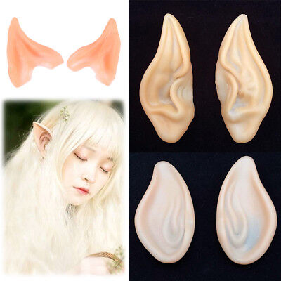 Halloween Costume Silicone Elf Ears Nose Cosplay Party Props Creative Gift](Creative Halloween Costume)