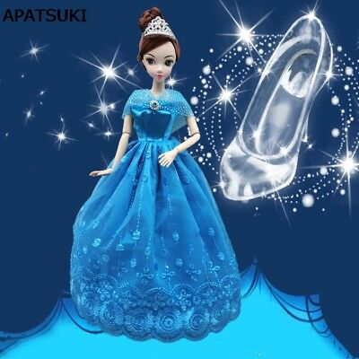 Wedding Dress Fairy Tale Gown Cinderella Dancing Doll Clothes For 11.5inch Doll](Fairies Dance Clothing)