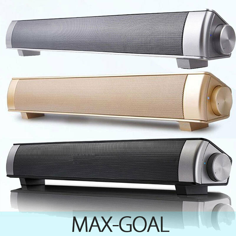 NEW Wireless Bluetooth TV Home Theater Speaker Soundbar SOUND BAR MAX