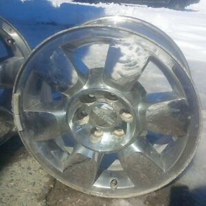 "20"" GMC Chrome rims"
