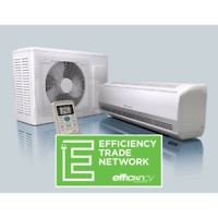 DUCTLESS HEAT PUMPS  - $14 bi-weekly! (installed)