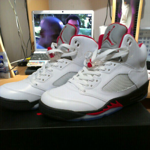 Brand New Air Jordan Retro 5 Fire Red Size 10