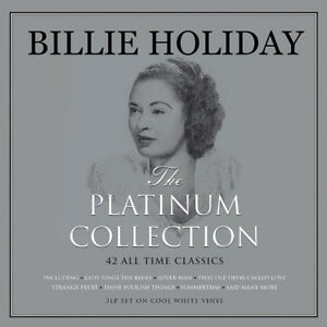 "Billie Holiday Vinyl  3XWhite Platinium Collection ""Sealed""New"
