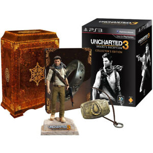 Uncharted 3 Collector's Edition with all original packaging.
