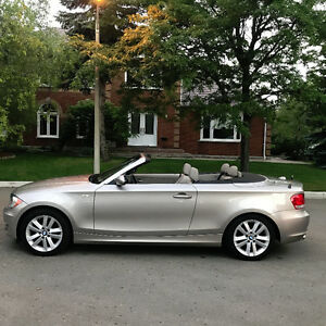 2008 BMW 1-Series 128i Convertible-6Speed-Clean Carproof