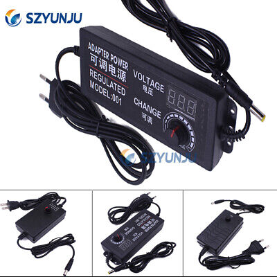 Adjustable Power Supply Chargers Dc 1-36v Ac100-240v Converter Adapter Switching