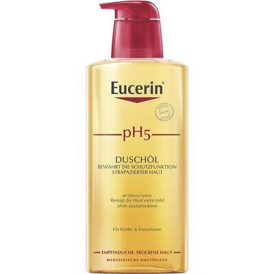 Eucerin pH5 Aceite de Ducha con Bomba Sensible 400 Ml PZN13889021