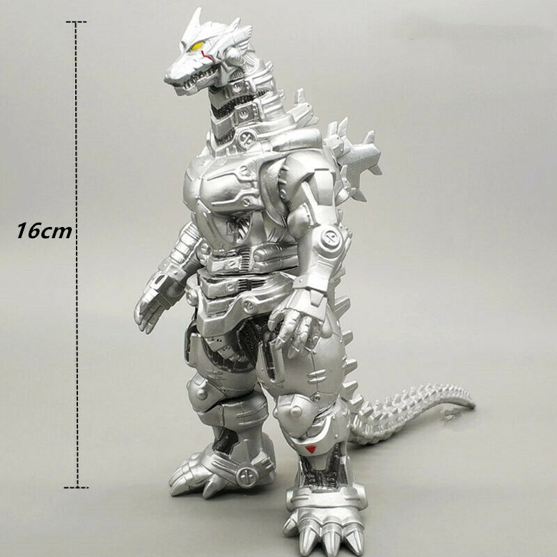 15cm Godzilla figure Mechagodzilla silver godzilla pvc action figure collectible
