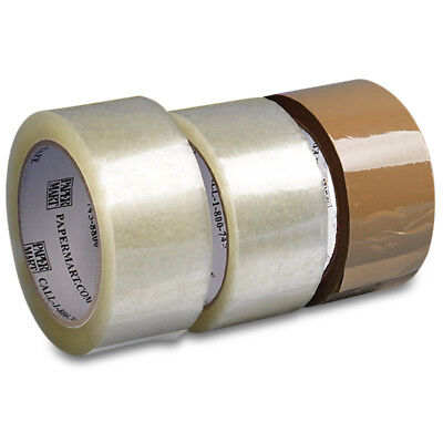 36 Rolls - 2 Inch x 110 Yards (330 ft) Clear Carton Sealing Packing Tape
