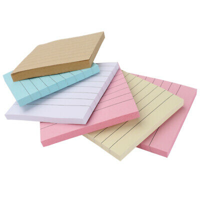 6 Pads Self Sticky Notes Pop Up Memo Reminder Neon Assorted Colors 390 Sheets
