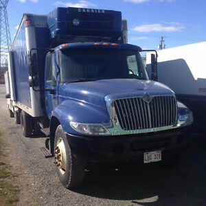 International 4400 series refrigerated straight truck