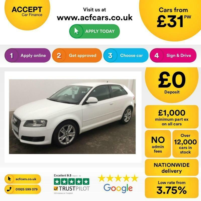 Audi A3 2.0TDI Sport FINANCE OFFER FROM £31 PER WEEK!