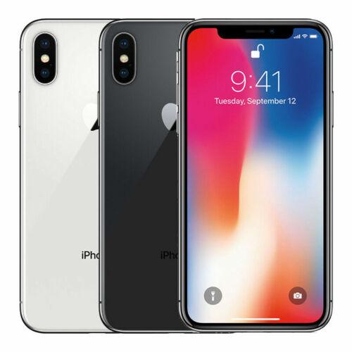 Apple iPhone X Unlocked Smartphone 📱 64 GB 256 GB Unlocked Verizon TMobile ATT
