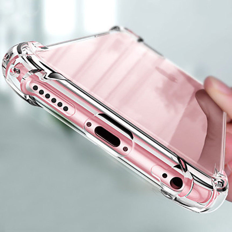 For Apple iPhone X/8/7/11 Ultra Thin Transparent Clear Shockproof Bumper Case Cases, Covers & Skins