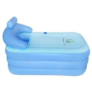 Adult PVC Folding Portable Bathtub Inflatable Bath Tub Air Pump 220002