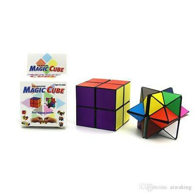 Transforming Cubes Star Detachable Infinity Cube 2 in 1 Fidget Stress Relief Toy