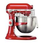 KitchenAid Ultimate mixer, 6,9 liter, rood