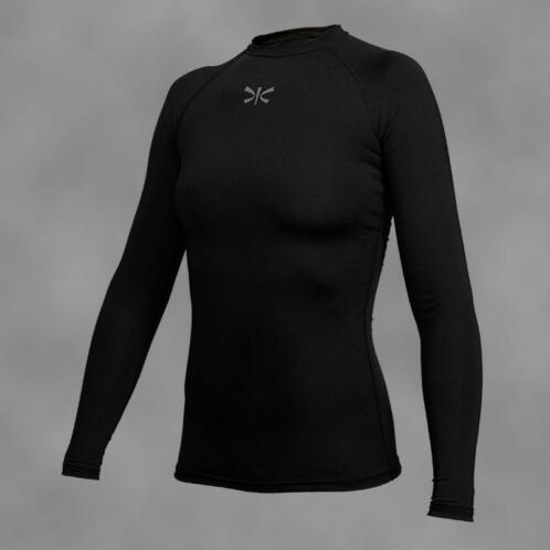TONBO woman's rashguard BLACK-REG, long sleeve