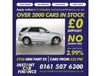 Mercedes-Benz ML250 2.0CDI BlueTEC Sport LOW WEEKLY PATMENTS £105 PER WEEK