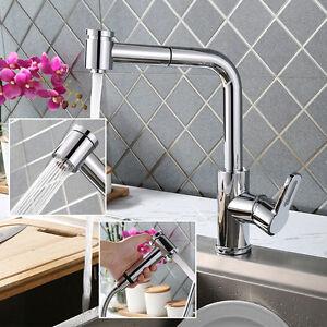 Küchenarmatur Ausziehbar Wasserhahn Profi Mischbatterie Einhandmischer Spültisch