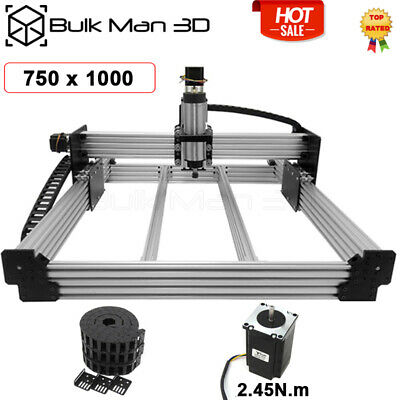 7501000mm Workbee Cnc Router Machine 4 Axis Screw Driven Mill Cable Chain Kit