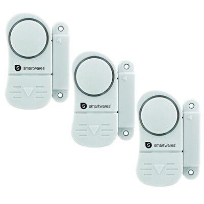 Türalarm Fensteralarm Einbruchschutz Fenstersicherung Mini-Alarmanlage SC07/3