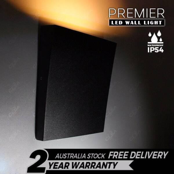 IP54 LED 6W Wall Light Modern Indoor Outdoor Sconce Lamp Fixtures