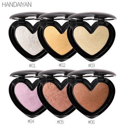 Face Foundation Shimmer Highlighter Powder Bronzer Makeup Shine Contour (Best Face Highlighter Makeup)