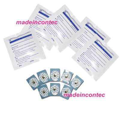 100pcs Disposable Electrodes Sticker For Ecgekg Machine Monitor Contec