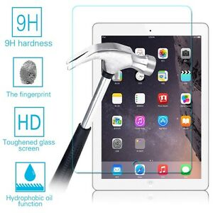iPad Air 1,2 Screen Protection with Scratch proof Tempered Glass