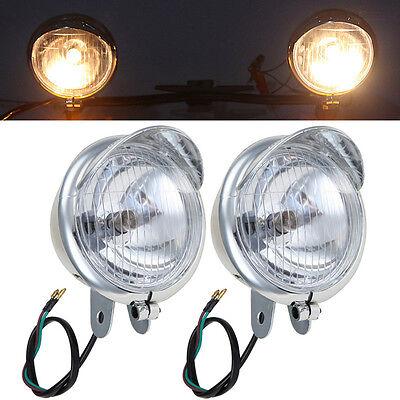 MOTORCYCLE FOG LIGHT LAMP FOR HONDA <em>YAMAHA</em> SUZUKI KAWASAKI PASSING BAR