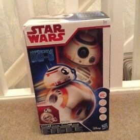 Brand new STAR WARS Hyperdrive BB-8 Remote Control Figure