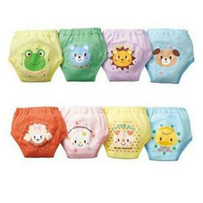 4 Pcs 4 Layers Potty Training Pants for Toddler Girls Boys W