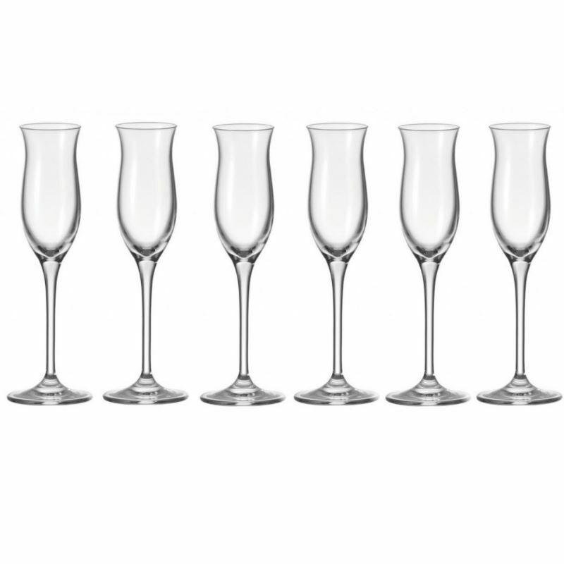 Leonardo Grappa Cheers Grappaglas Grappagläser 6 er Set