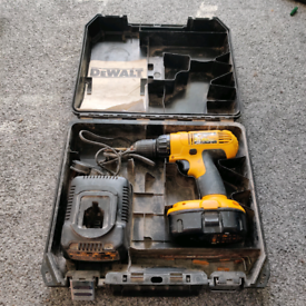 DeWalt Cordless Drill, With Battery, Charger and Case
